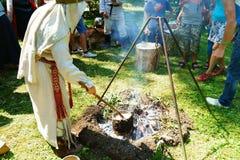 Het Festival van Vikingen Stock Afbeelding