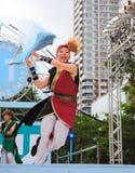 Het festival van Yosakoi in Sapporo Royalty-vrije Stock Foto