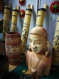 het festivaldag van decoratiegawai Royalty-vrije Stock Foto