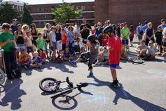 2015 het Festivaldeel 2 59 van NYC Unicycle Stock Foto's