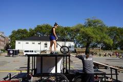 2015 het Festivaldeel 2 85 van NYC Unicycle Royalty-vrije Stock Foto's