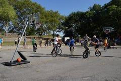 2015 het Festivaldeel 2 98 van NYC Unicycle Royalty-vrije Stock Fotografie