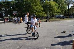 2015 het Festivaldeel 3 7 van NYC Unicycle Royalty-vrije Stock Afbeeldingen