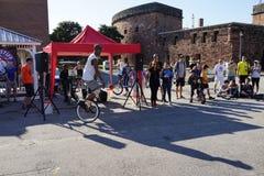 2015 het Festivaldeel 3 52 van NYC Unicycle Royalty-vrije Stock Foto