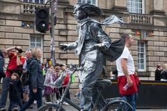 """Het Festivalrand 3†""""27 Augustus 2018 van Edinburgh Het uitspreiden zich, divers en enkel een klein gek beetje stock foto's"""