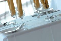 Het fijne dineren Royalty-vrije Stock Afbeelding