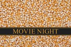 Het is Filmnacht Stock Fotografie