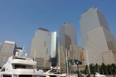 Het Financiële Centrum van de wereld Stock Fotografie