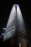 Het Financiële Centrum van de Wereld van Shanghai van de bouw Royalty-vrije Stock Foto