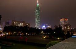 Het Financiële Centrum van de Wereld van Taipeh Stock Foto's