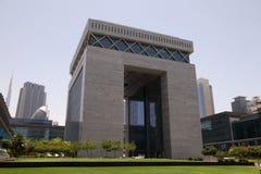 Het Financiële Centrum van Doubai (DIFC) stock fotografie