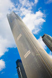 Het financiële centrum van Guangzhouzhou dafu Royalty-vrije Stock Foto's