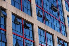 Het Financiële Centrum van Madrid Stock Afbeeldingen