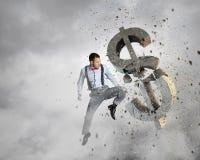 Het financiële Concept van de Crisis Royalty-vrije Stock Foto's