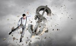 Het financiële Concept van de Crisis Stock Afbeelding