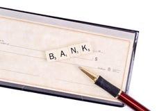 Het financiële Concept van het Bankwezen royalty-vrije stock afbeeldingen
