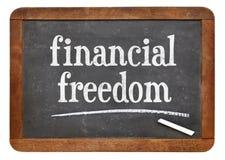 Het financiële teken van het vrijheidsbord Stock Afbeeldingen