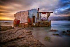 Het Fishermans-huis Stock Fotografie