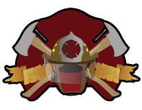 Het flard van de brandbestrijder Royalty-vrije Stock Afbeelding