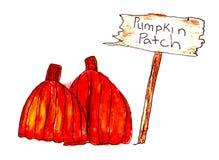 Het Flard van de pompoen Stock Afbeelding