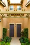 Het Flatgebouw met koopflats van Californië Royalty-vrije Stock Foto