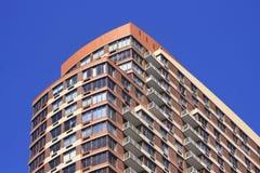 Het flatgebouw met koopflats van de luxe Royalty-vrije Stock Foto's