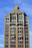 Het flatgebouw met koopflats van Upscale in Chicago Stock Foto