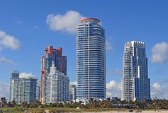 Het Flatgebouw met koopflatstorens van het Southpointepark Stock Foto