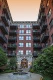 Het flatgebouw van Chicago Stock Afbeelding