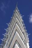 Het flatgebouw van de hoek Royalty-vrije Stock Foto's