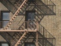 Het flatgebouw van de Stad van de V.S. New York Royalty-vrije Stock Afbeeldingen