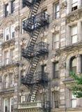 Het flatgebouw van Harlem Stock Fotografie