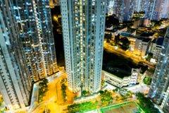 Het Flatgebouw van Hongkong Stock Foto's
