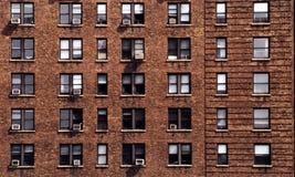Het flatgebouw van New York Stock Foto