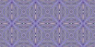 Het flikkeren Optische illusie Vector Illustratie