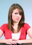 Het Flirt van de tiener Stock Foto's