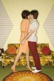 Het flirten van het paar. Royalty-vrije Stock Foto