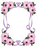 Het Floral Background malplaatje van Daisy Royalty-vrije Stock Afbeeldingen