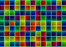 Het fluorescente veelkleurige lighying Royalty-vrije Stock Afbeeldingen
