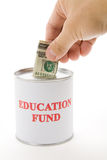 Het fonds van het onderwijs royalty-vrije stock fotografie