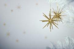 Het fonkelen Kerstmis Royalty-vrije Stock Afbeeldingen