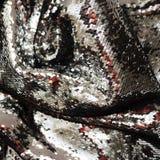 Het fonkelen sequined stoffentextuur royalty-vrije stock foto's