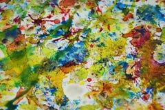Het fonkelen vage tinten, de wasachtige creatieve achtergrond van de pastelkleurverf Royalty-vrije Stock Fotografie