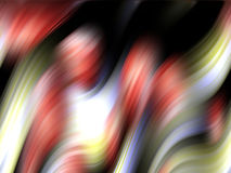 Het fonkelen wind abstract ontwerp, romantisch beeld Stock Foto