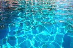 Het fonkelende Water van de Pool Royalty-vrije Stock Afbeeldingen