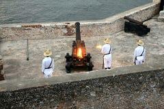 Het Fort Cuba van Gr Morro Royalty-vrije Stock Afbeeldingen