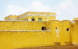 Het fort hristiansted st croix ons maagdelijke eilanden Royalty-vrije Stock Afbeeldingen
