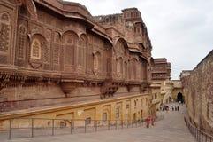 Het fort Jodhpur van Mehrangarh Stock Afbeelding