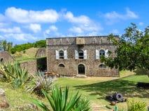 Het Fort Napoleon van Lessaintes Stock Fotografie