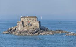 Het fort op Petit is eiland Stock Foto